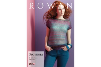Rowan - Slovenia Top in Kidsilk Haze (downloadable PDF)