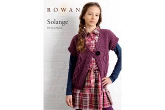 Rowan - Solange Cardigan in Rowan Cocoon (downloadable PDF)