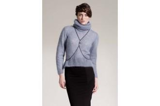 Rowan - Studio 22 - Hover Sweater by Grace Melville in Kidsilk Haze (downloadable PDF)