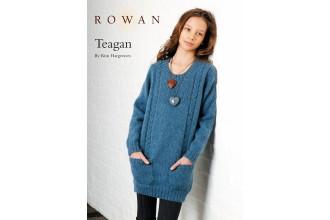 Rowan - Teagan Long Sweater in Kid Classic (downloadable PDF)