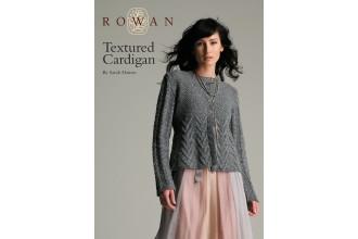 Rowan - Textured Cardigan in Felted Tweed DK (downloadable PDF)