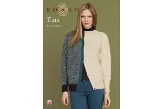 Rowan - Tina Cardigan in Kid Classic (downloadable PDF)