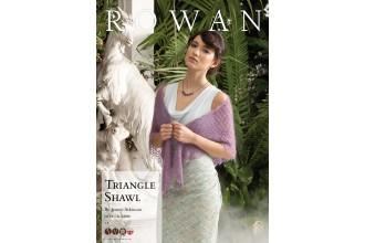 Rowan - Triangle Shawl in Kidsilk Haze (downloadable PDF)