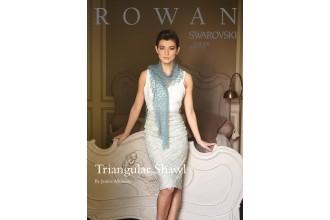 Rowan - Triangular Scarf in Kidsilk Haze (downloadable PDF)