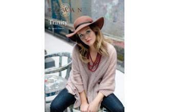 Rowan - Trinity Sweater in Kidsilk Haze (downloadable PDF)