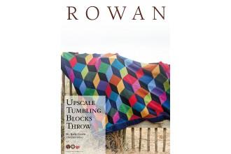 Rowan - Upscale Tumbling Blocks Throw in Pure Wool Superwash Worsted (downloadable PDF)