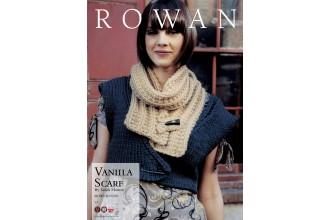 Rowan - Vanilla Scarf in Big Wool (downloadable PDF)