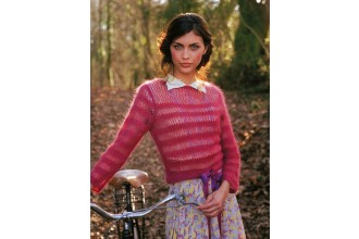 Rowan - Vintage Style - Aimee Jumper in Kidsilk Haze (downloadable PDF)