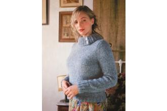 Rowan - Vintage Style - Magnolia Sweater in Kid Classic and Kidsilk Haze (downloadable PDF)
