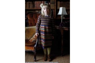 Rowan - Winter Kids - Elsie Dress by Marie Wallin in Felted Tweed DK (downloadable PDF)