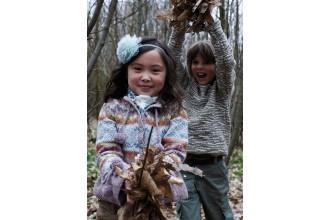 Rowan - Winter Kids - Olivia Jacket by Lisa Richardson in Felted Tweed DK  (downloadable PDF)