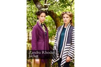 Rowan - Zandra Rhodes Jacket in Kid Classic (downloadable PDF)