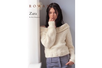 Rowan - Zara Sweater in Big Wool (downloadable PDF)