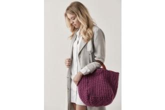 Rowan - Big Wool Knits - Alice Moss Stitch Bag in Big Wool (downloadable PDF)