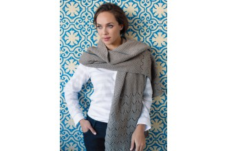 Rowan - Timeless Worsted - Copenhagen Wrap in Pure Wool Superwash Worsted (downloadable PDF)