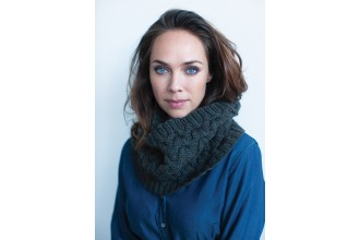 Rowan - Timeless Worsted - Holm Cowl in Pure Wool Superwash Worsted (downloadable PDF)