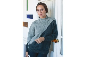 Rowan - Timeless Worsted - Jensen Sweater in Pure Wool Superwash Worsted (downloadable PDF)