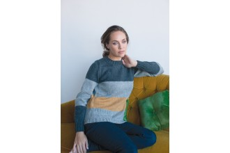 Rowan - Timeless Worsted - Malmo Sweater in Pure Wool Superwash Worsted (downloadable PDF)