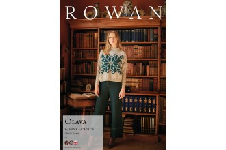 Rowan - New Nordic - Olava Sweater by Arne and Carlos in Felted Tweed and Kidsilk Haze (downloadable PDF)