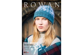 Rowan - New Nordic - Solveig Hat by Arne and Carlos in Felted Tweed and Kidsilk Haze (downloadable PDF)