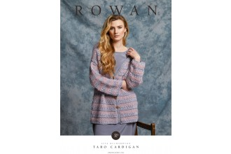 Rowan - Taro - Sweater and Cardigan by Lisa Richardson in Creative Linen, Fine Lace and Kidsilk Haze (downloadable PDF)