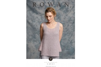 Rowan - Cauli - Top by Lisa Richardson in Fine Lace and Kidsilk Haze (downloadable PDF)