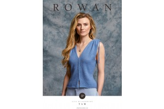 Rowan - Yam - Top by Lisa Richardson in Fine Lace (downloadable PDF)