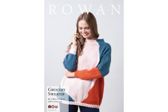 Rowan - Grocery Sweater by Chloe Thurlow in Pure Wool Superwash Worsted (downloadable PDF)
