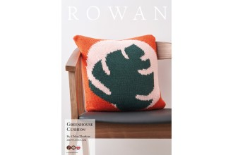 Rowan - Greenhouse Cushion by Chloe Thurlow in Pure Wool Superwash Worsted (downloadable PDF)