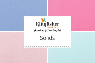 Kingfisher Fabrics - Solids Collection