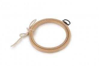 Siesta - Wooden Hanging Frame, Round, 10cm / 4in