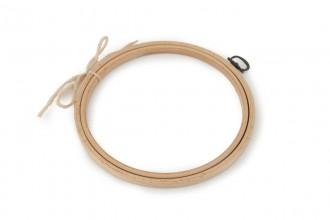 Siesta - Wooden Hanging Frame, Round, 15cm / 6in