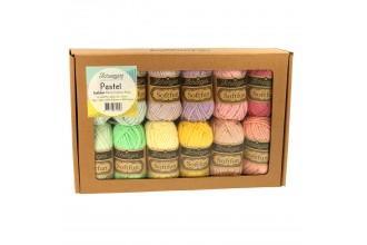 Scheepjes Softfun Colour Pack - Pastel (12 x 20g balls)