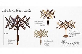 Scheepjes Umbrella Yarn Swift - Beech and Rosewood finish