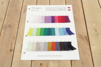 Scheepjes Linen Soft - Shade Card (0000) -