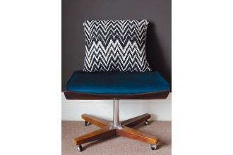 Rowan - Rowan At Home - Slalom Cushion by Martin Storey in Pure Wool Superwash Worsted (downloadable PDF)