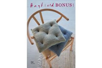 Sirdar 10260 Wicker & Honeycomb Stitch Seat Cushions in Hayfield Bonus DK (leaflet)