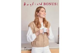 Sirdar 10270 Boxy Chequer Board Waistcoat in Hayfield Bonus DK (leaflet)