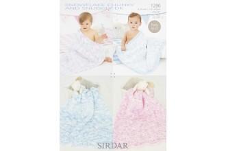 Sirdar 1286 Snowflake Chunky (leaflet)