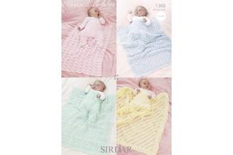 Sirdar 1368 Snuggly 4 Ply (leaflet)