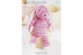 Sirdar 1456 Snuggly DK and Baby Crofter DK (leaflet) Bunny