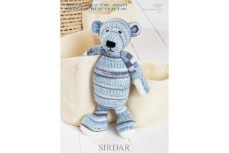 Sirdar 1457 Snuggly DK and Baby Crofter DK (leaflet) Bear