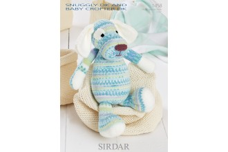 Sirdar 1458 Snuggly DK and Baby Crofter DK (downloadable PDF) Dog