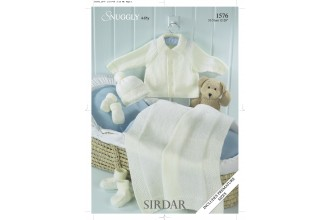 Sirdar 1576 Snuggly 4 Ply (leaflet)