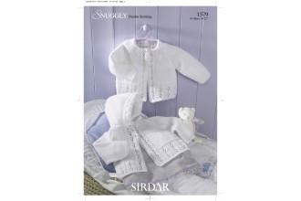Sirdar 1579 Snuggly DK (leaflet)