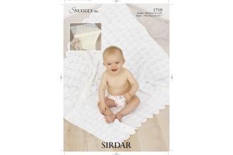 Sirdar 1710 Blanket & Shawl in Snuggly DK (leaflet)