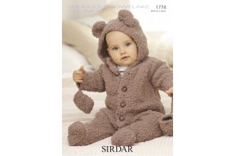 Sirdar 1774 Snowflake Chunky (leaflet)