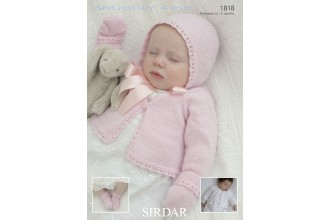 Sirdar 1818 Snuggly 4 Ply (downloadable PDF)