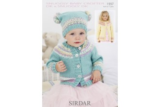 Sirdar 1997 Snuggly Baby Crofter & Snuggly DK (leaflet)