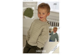 Sirdar 2062 Snuggly DK & Supersoft DK (downloadable PDF)
